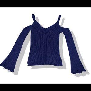 Aeropostal Cold Shoulder Sweater